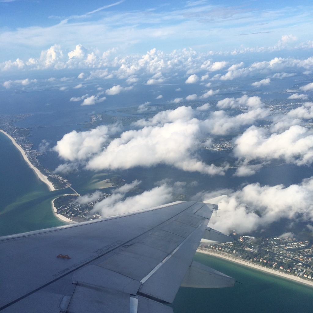 Florida from Airplane