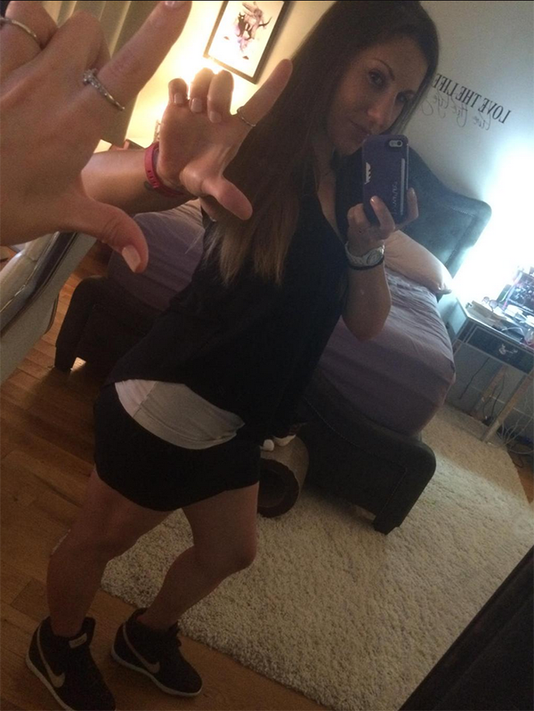 meggerz selfie