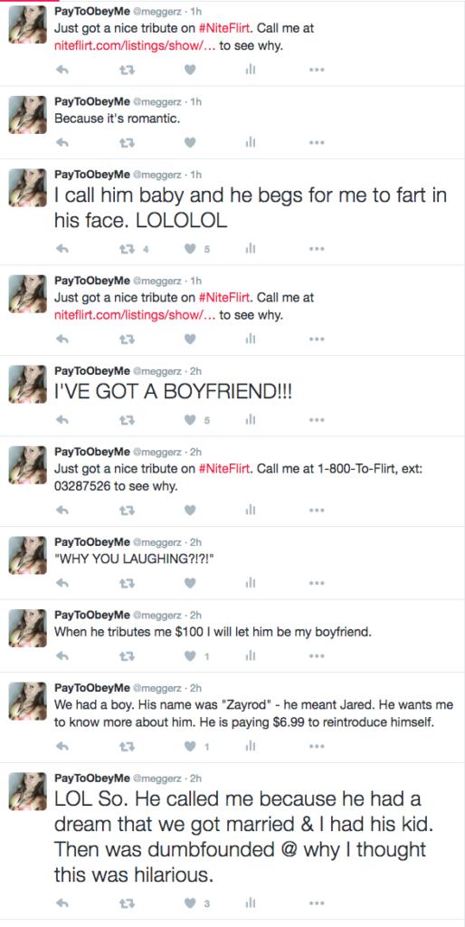 niteflirt story on twitter